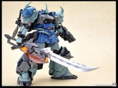 GPB-07B-3 SUPER GOUF CUSTOM. For when your regular Gouf just needs to be more Goufesque. The equivalent of a musclebound weightlifter that can't touch his neck.