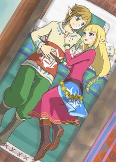The Legend of Zelda Skyward Sword, Pixiv