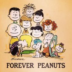 When were you first introduced to the Peanuts gang?