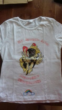 #songbirdserenade #diytshirt #textilepen #mylittlepony