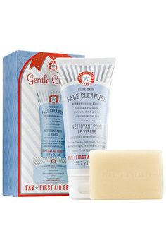 This set comes with a gentle cleanser and soap bar for a price that can't be beat.First Aid Beauty Gentle Cleanse, $10, available at Sephora. #refinery29 http://www.refinery29.com/best-value-beauty-products#slide-28
