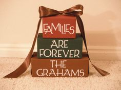Cute LDS Family Decoration