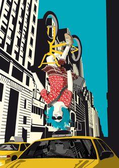 Free Style  Chris Thornley- Illustrator