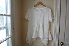 Linen Shirt / 'Iberia' Blouse / 100% Linen by BreatheAgainClothing