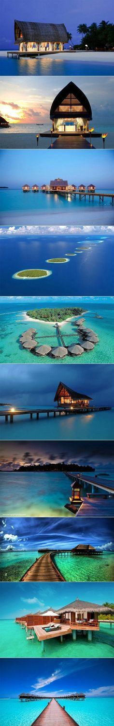 These beautiful small huts in Maldives have always been seen to me as the most romantic and relaxing places where yourself and partner can attend. I hope to one day travel here with my future girlfriend or wife in order to spend a romantic vacation with just the two of us. The calm waters, beautiful atmosphere and special company will be key to a romantic and relaxing vacation.
