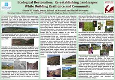 Ecological Restoration: Re-establishing Landscapes while Building Resilience and Community Grassland Habitat, Information Center, Environmental Education, Education Center, Nature Center, State Government, Natural Resources, Creative Thinking, Ecology