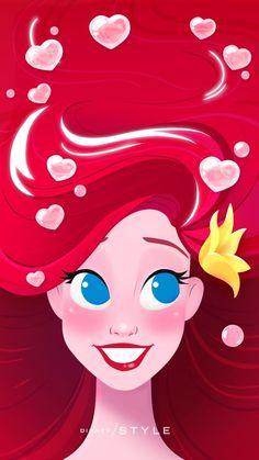 Ariel Disney, Disney Pixar, Princesa Ariel Da Disney, Disney E Dreamworks, Disney Amor, Disney Little Mermaids, The Little Mermaid, Mermaid Disney, Mermaid Art