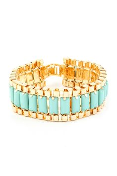 bracelet with turquoise