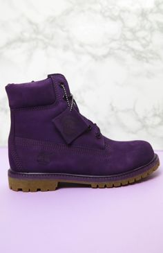 Timberland - Women's 6-Inch Premium Waterproof Boots - Purple from Peppermayo.com