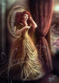 """Ariel"" by Jennyeight(Jenny Lehmann-deviantART)"