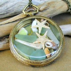 Cool way to reuse a broken pocketwatch.