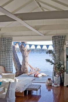 beachcomber: inspiration beach house boat house boatshed chic coastal style