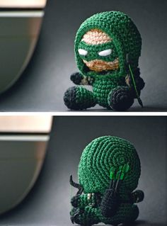 amigurumi green arrow