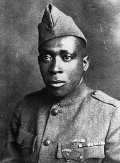 Henry Johnson: Johnson and Needham Roberts were  the 1st Americans to be awarded the French Croix de Guerre, France's highest military award  for their World War I Heroism.  Johnson & Roberts were manning a 2 man outpost when German patrol, estimated at more than 20 men, attacked with grenades. Wounded, both Americans emptied their weapons and Roberts, who was wounded in his hip or knee and unable to stand, tossed grenades to Johnson who hurled them at the enemy patrol to repel the attack.