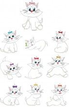 Cute kitty Embroidery Designs free african free native american embroidery designs