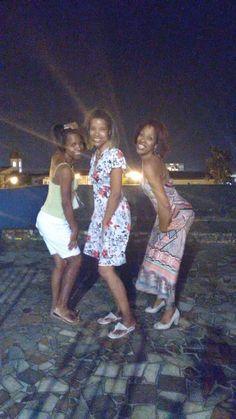 Eu e minhas irmãs...