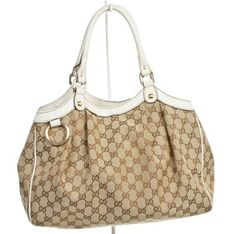 Gucci Monogram Canvas Sukey Medium Handbag Shoulder Bag $423
