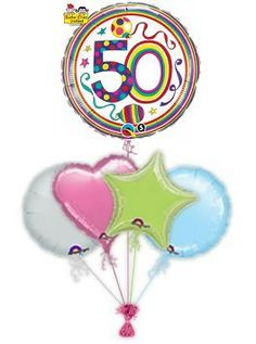 """Special birthday balloons designed by Rachel Ellen to make the day extra special. birthday balloons """"Dots"""" are a great gift idea. Send birthday balloons in a box by free balloon post Balloon Design For Birthday, 50th Birthday Balloons, Special Birthday, Happy Birthday, Sea Creatures, Great Gifts, Stripes, Free, Happy Brithday"""