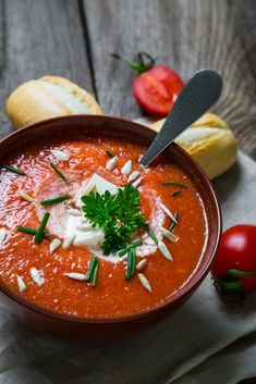 Soup Recipes, Cooking Recipes, Healthy Recipes, Good Food, Yummy Food, Soups And Stews, Curry, Food And Drink, Stuffed Peppers