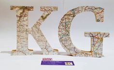 Check out this item in my Etsy shop https://www.etsy.com/uk/listing/280631910/word-art-map-faced-wooden-letters-map