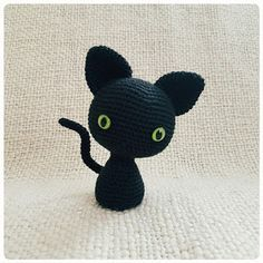 The Minema' Cat ~ free - crochet ~ are you a cat lover?