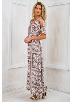 Boho Maxi Dress (2) | Dresscab