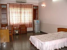 Standard - Double room. More at http://www.chaudoctravel.com/2011/09/hoa-binh-ii-hotel/