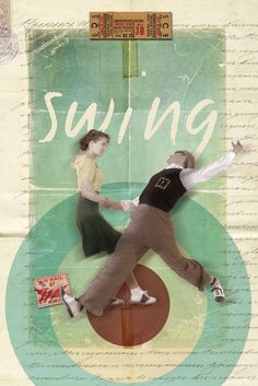 Swing Dance Art Print- Michael- you are so creative and cool!