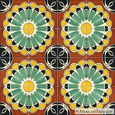 Mexican Tile - Abanico Mexican Tile