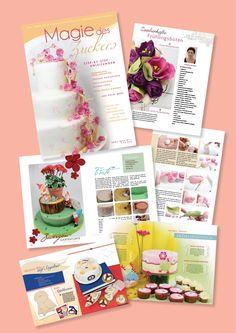 Magazin Magie des Zuckers Ausgabe April 2013 Cover, Birthday, Tutorials, Wedding, Blankets