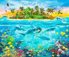 Dolphin Aqua Life Screensaver (free version) download for PC