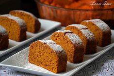 Chec de post cu dovleac Loaf Cake, Cornbread, Banana Bread, Panna Cotta, Mai, Ethnic Recipes, Desserts, Sweets, English Language