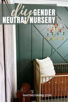 Gender-Neutral Nursery - Whitney Irene