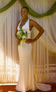 Nikki & Chris's Jamaican-American, Southern soul backyard wedding