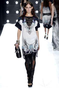 Milan Fashion Week: Roberto Cavalli Spring / Summer 2013 Ready-to-Wear.