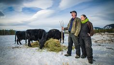 Family Farming may mean doing it all! Meet this team with #chickens #dairy #beef #pigs  #IYFF14http://ow.ly/Crh9M (Photo Archbould.com)
