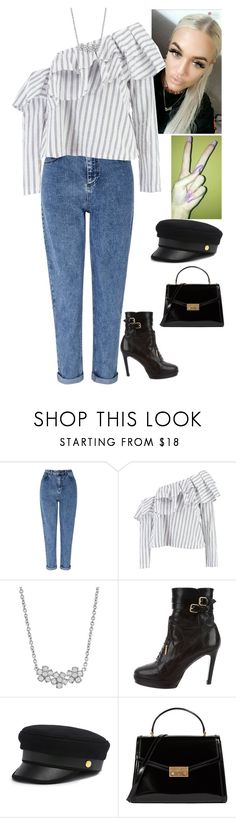 """Untitled #1012"" by fatyhnrqz94 ❤ liked on Polyvore featuring Miss Selfridge, Boohoo, Jennifer Meyer Jewelry, Burberry, Henri Bendel and Tory Burch"
