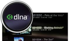 World class DLNA support built right in