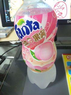 Fanta Japan Japanese Drink Soda Peach
