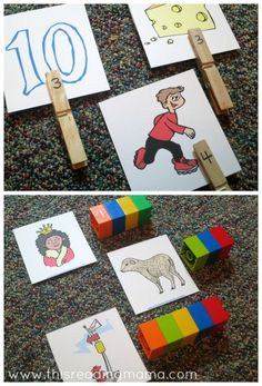 Counting Sounds in Words {FREE Sound Cards Included!}