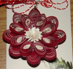 Sergal's quilling art: ..continuam Paper Quilling, Christmas Wreaths, Holiday Decor, Quilling