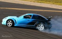 Mazda RX-8:  I had one of these for a while, but 'tis gone (a tale of woe and good deeds punished.)  Loved it, but it really is a track car whose performance capabilities felt constrained on the road.  Translated, it means I always wanted to drive the car fast.