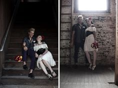 Rockabilly Wedding Flowers | Part 2 of this Punk Rockabilly inspiration shoot coming in a little ...
