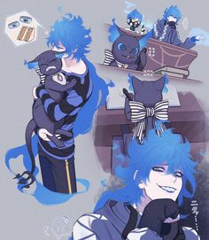 Black Anime Characters, Fantasy Characters, Pretty Art, Cute Art, Disney Art, Disney Pixar, Castlevania Anime, Character Art, Character Design