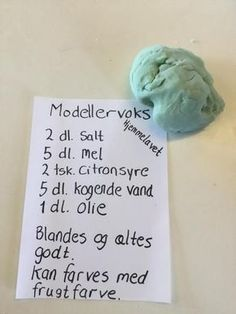 Modellervoks opskrift Hobbies For Kids, Diy For Kids, Crafts For Kids, How To Make Paint, Creative Kids, Diy Projects To Try, Toddler Activities, Kids And Parenting, Kids Playing