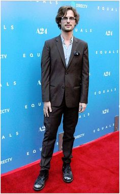 Actor Matthew Gray Gubler attends the Los Angeles Premiere of EQUALS at Arclight Hollywood on July 7, 2016 in Hollywood, California.