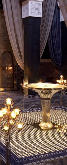 Fine Dining Restaurants Morocco - Royal Mansour Marrakech