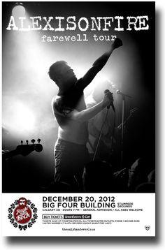 Alexisonfire Poster Concert $9.84