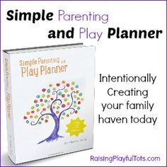 Simple Parenting and Planner is a new workbook, planner and calendar that helps you plan your activities together as a family for now and your future.