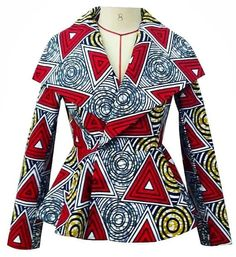 trendy Ankara jackets Be the talk of the town in super stylish African print clothing? Check out this post for over 20 trendy Ankara print jackets that can be worn in a plethora of ways. So many amazing styles in one place. African Fashion Designers, African Fashion Ankara, Ghanaian Fashion, African Inspired Fashion, African Print Fashion, Nigerian Fashion, African Print Clothing, African Print Dresses, African Dress